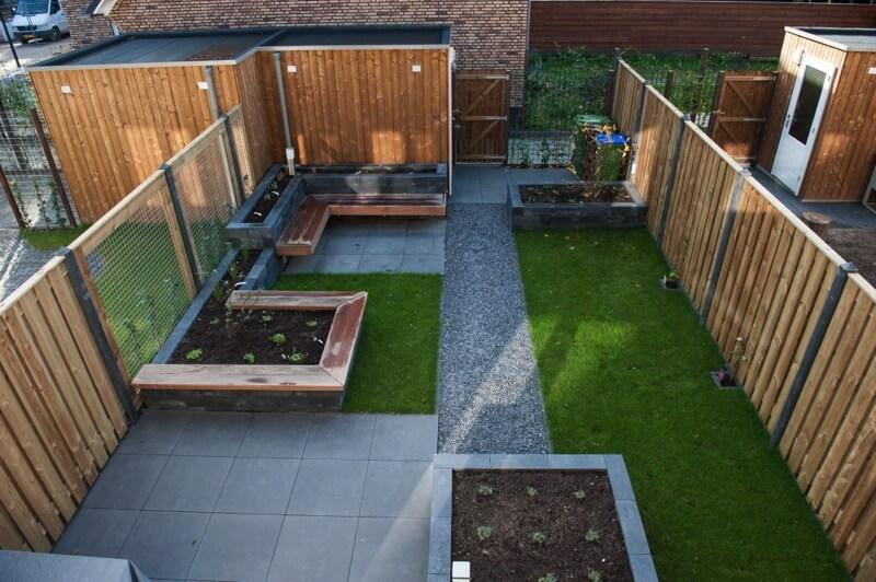 Moderne tuin kerngroen hovenier ede bennekom wageningen kerngroen