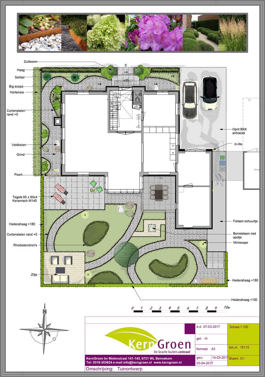 Laat uw tuinontwerp door kerngroen maken kerngroen for Tuinontwerp door studenten